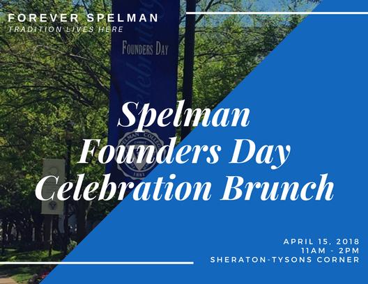 DMV Spelman Founders Day Celebration Brunch